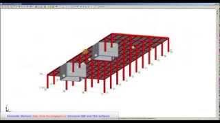 Создание железобетонного многоэтажного монолитного здания ФОРУМ SCAD Office 11.5 часть 2