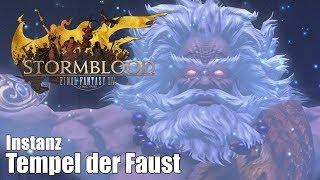 Final Fantasy XIV: Stormblood | 🏛 Tempel der Faust | Level 70 | Instanz | Barde | [HD+]