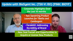 BioSyent on Upcoming Product Launches, Durability of FeraMAX, New Deal Funnel and Growth Drivers