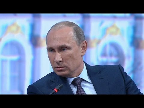 Putin talks Ukraine, Syria and U.S. relations with Charlie Rose