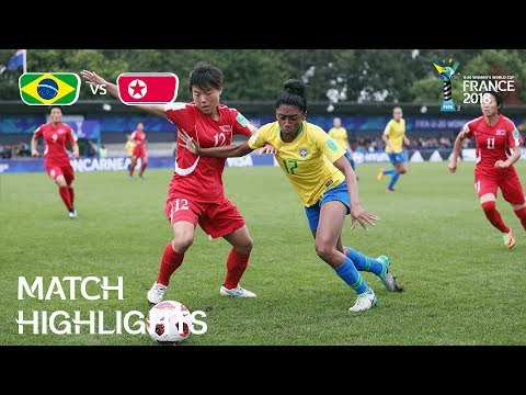 Brazil v. Korea DPR - FIFA U-20 Women's World Cup France 2018 - Match 19
