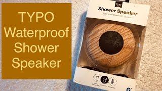 TYPO Waterproof Shower Speaker