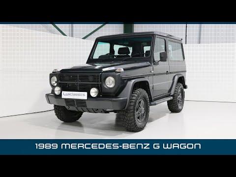 Lux Classics Mercedes-Benz G Wagon 280GE (1989) Restored