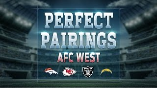 AFC West NFL Draft Perfect Pairs Picks | Move the Sticks | NFL