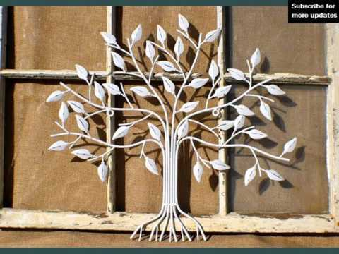 Decoration Ideas & Collcetion | Metal Wall Decor Outdoor - YouTube
