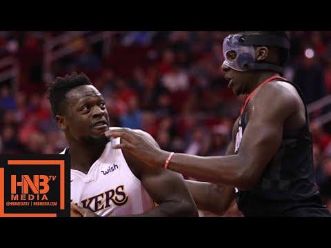 Los Angeles Lakers vs Houston Rockets 1st Half Highlights ...