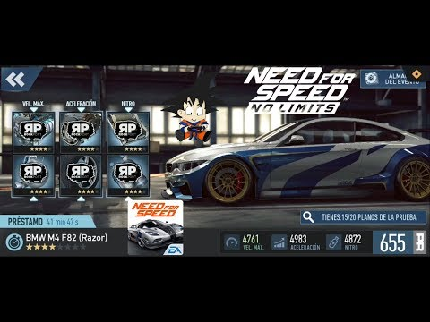 Need For Speed No Limits Android BMW M4 F82 (Razor) Final! Y Saludos!