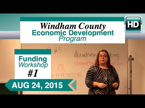 WCEDP Funding Workshop 1: Letter of Intent 8/24/15