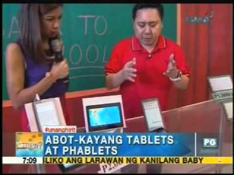 Affordable Tablets And Phablets For Students | Unang Hirit