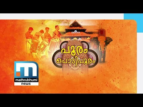 Pooram: Making of Alavattam, Venchamaram In Last Statge| Mathrubhumi News