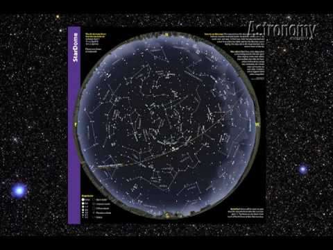 How To Use A Star Chart YouTube - Night sky map northern hemisphere