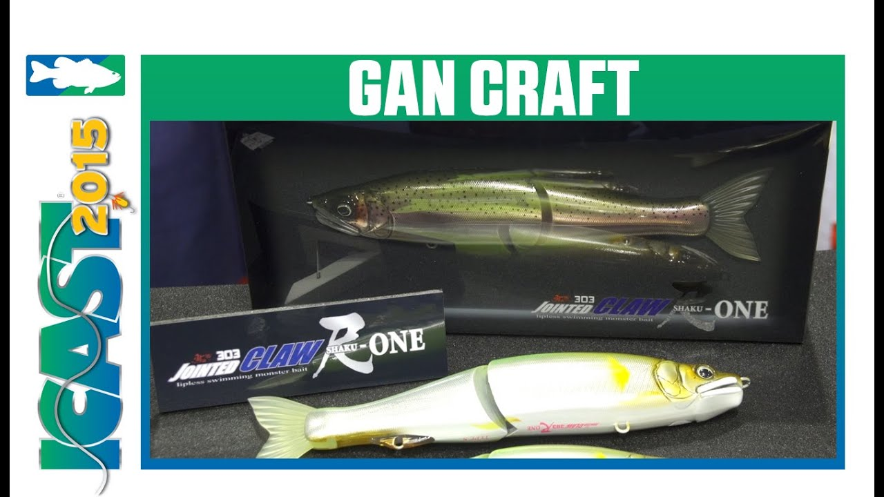 Lot of 3 PREMIUM Jointed Fishing Lures PHENOMENAL Gan Craft Osa 80 Remake ALL 3