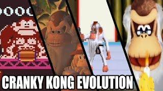 Evolution of Cranky Kong (1981 - 2018)