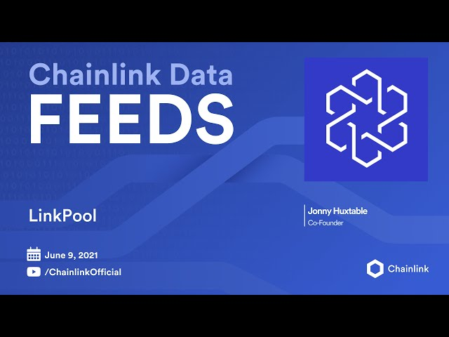 LinkPool on Chainlink Live | The Market.Link Upgrade
