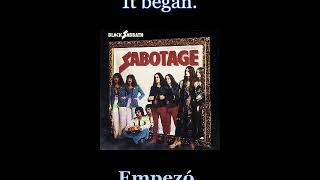 Black Sabbath - The Writ - 08 - Lyrics / Subtitulos en español (Nwobhm) Traducida