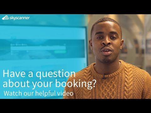 Where is my booking confirmation?   Skyscanner
