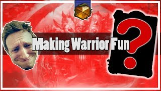 Hearthstone: How to Make Control Warrior Fun!