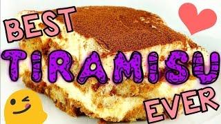 DELICIOUS EASY NO BAKE DESSERT! || Best Tiramisu Ever