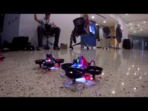 Tiny Whoop Race at FedEx Institute of Technology
