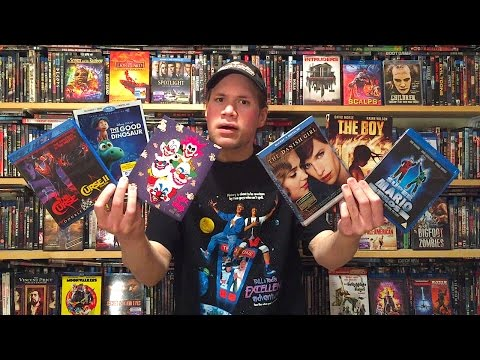 My Blu-ray Collection Update 2/20/16 : Blu ray and Dvd Movie Reviews