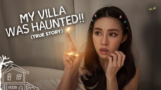 I STAYED IN A HAUNTED VILLA  😱👻 | nicolechangmin