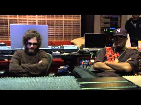 Joaquin Phoenix In The Studio With P. Diddy