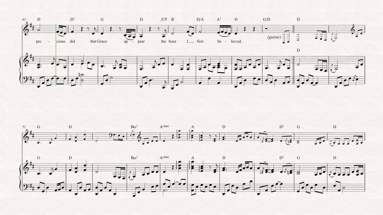 Violin - Amazing Grace - Alan Jackson - Sheet Music, Chords, u0026 Vocals - YouTube
