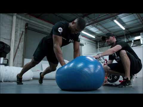 Anthony Joshua workout