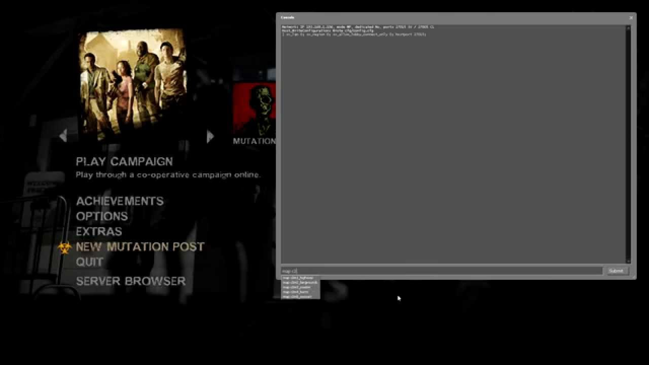 Create and host NON STEAM server for Left 4 Dead 2