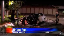 Corpus Christi TX~Drunk driver drags Motorcycle
