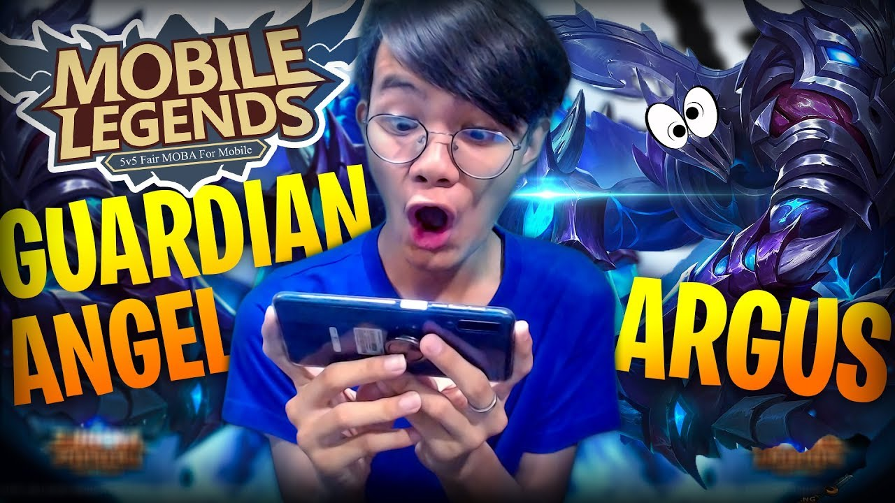 ARGUS MY GUARDIAN ANGEL! | MOBILE LEGENDS (FUNNY GAMEPLAY) - #FILIPINO