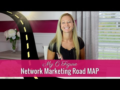 Network Marketing Tips - My Road Map To A 6 Figure Income Goal