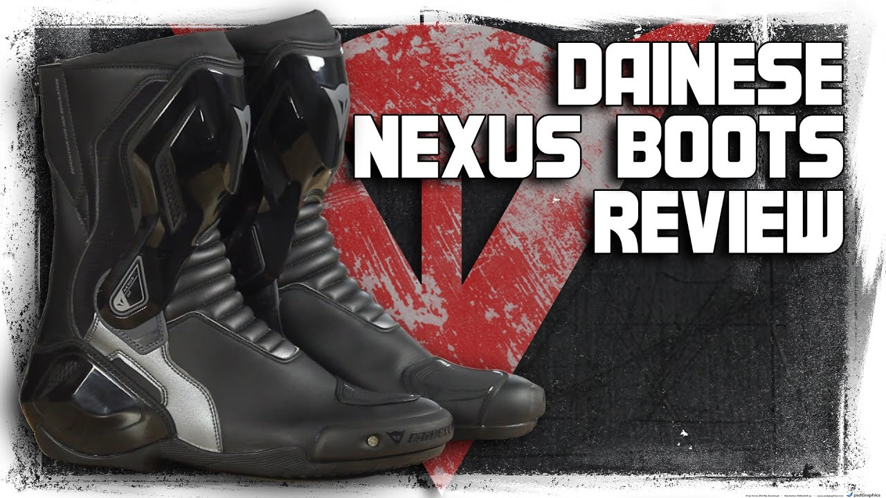 Dainese Nexus Boots Review from