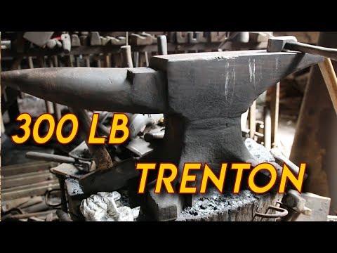 Tough Old Blacksmith Shows His Anvils