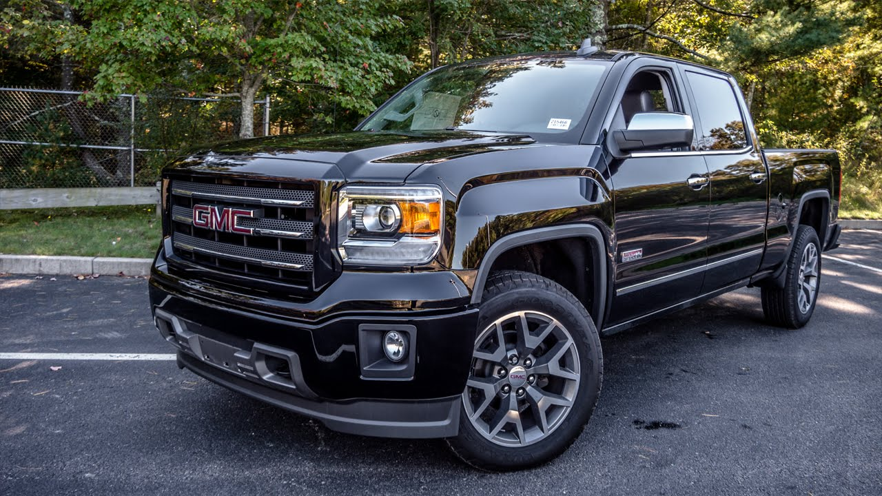 2015 GMC Sierra 1500 All Terrain - YouTube
