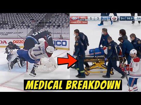 Jake Evans Stretchered Off After DANGEROUS and UNSAFE Hit - Doctor Explains