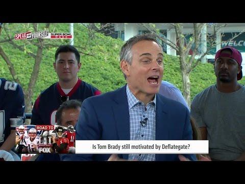 Is Deflategate still motivating Patriots QB Tom Brady?   SPEAK FOR YOURSELF