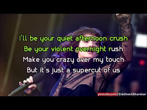 Lorde - Supercut (Instrumental) with Lyrics