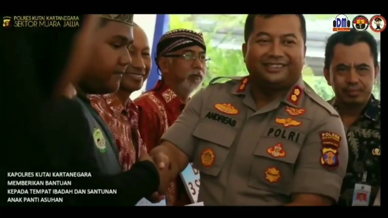 Silaturahmi Kapolres Kutai Kartanegara