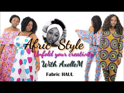 Afric-Style: Fabric Haul