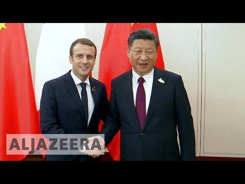 Macron in Beijing: French president begins China state visit 🇫🇷