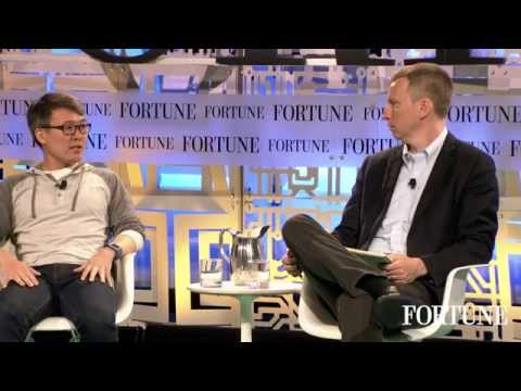 James Park, co-founder and CEO of Fitbit, at Fortune's Brainstorm Tech | Fortune