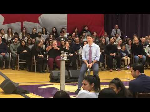 Justin Trudeau. Live from London, ON   watch our town hall at Western University, and I'll be