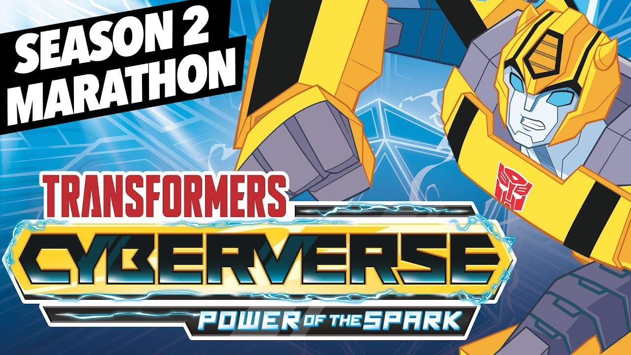 Cyberverse Season 2 Power of the Spark Marathon - Watch All 18 Episodes Non-Stop!