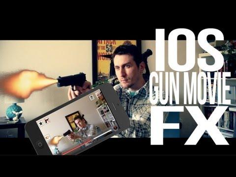 iOS Gun Movie FX