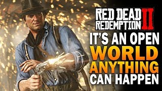 The Epic Journey To 100% - Red Dead Redemption 2 Free Roam Gameplay