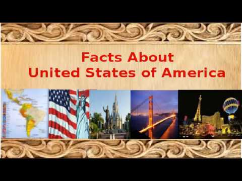 Facts about United States of America.50 Amazing Facts about USA