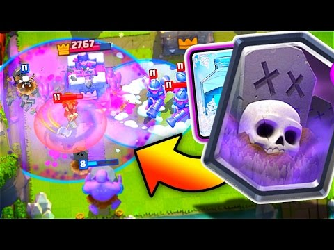 GRAVEYARD FREEZE DECK // Clash Royale