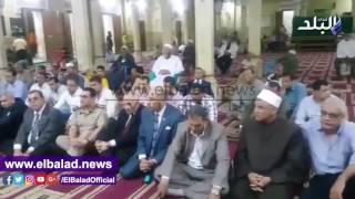 بالفيديو.. محافظ الفيوم يحتفل بالعام الهجري الجديد