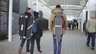 Deck Hook- Launching on Kickstarter. The new way to carry any skateboard or longboard